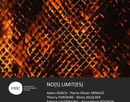 NO(S) LIMIT(ES), exposition d'Art Contemporain